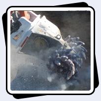 AQ1 Husqvarna Robot Concrete Demolition