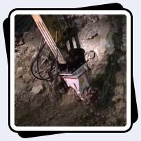 Antraquip AQ-3XL Drum Cutter working in a Salt Mine in Turkey