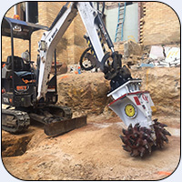 AQ1 on John Deere Mini Excavator in Australia