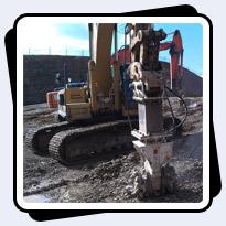 AQ4 on CAT330 Hard Rock Excavation