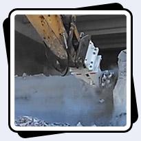 AQ-4 On CAT336 Cutting Limestone in near Dallas, Texas.