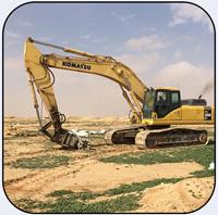 AQ4 on PC340 Trenching in Saudia Arabia