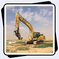 AQ4 on PC340 Trenching in Saudia Arabia