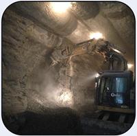 AQ-3XL Cutter working in Toronto Billy Bishop Tunnel.