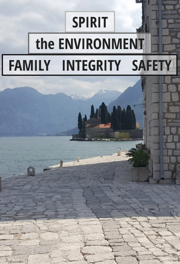 The environment, family, integrity and safety are all first and foremost at Spirit Energy Services.
