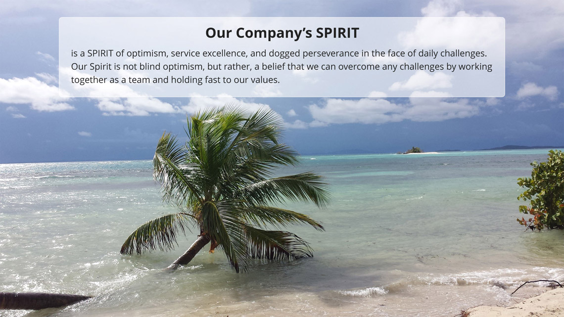 Spirit Services upholds the qualities regarded as forming the definitive of the environmental industry.